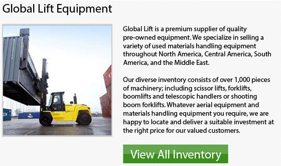 Manitou Cushion Tire Forklift