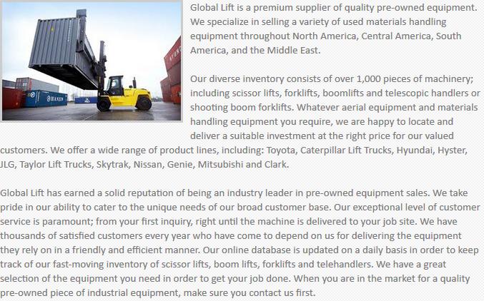 Global Lift Equipment